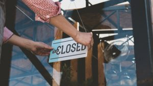 Disaster Loan Small Business Closed